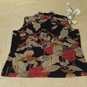 Dress Barn Tops - Dress Barn Multi Color Sleeveless Top Sz 1X